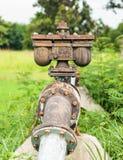 Waterl管道和阀门 库存图片