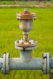 Waterl管道和阀门 免版税库存图片