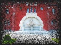 Waterleidingsbedrijven 1 royalty-vrije illustratie