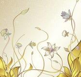 Waterlelie stock illustratie
