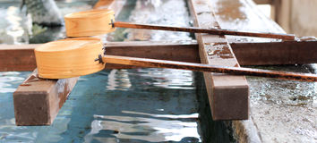 Waterlepel Royalty-vrije Stock Foto