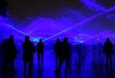 Waterlight Lumiere Лондон Стоковое Изображение