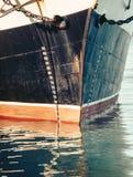 Waterlijn van boot Stock Fotografie