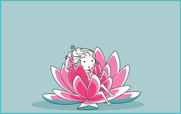waterlilly Obraz Royalty Free