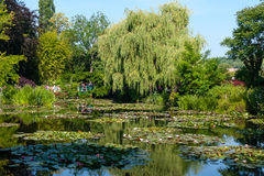 Waterlily ogródy (Giverny) Zdjęcie Royalty Free
