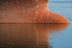 Waterline do petroleiro Foto de Stock Royalty Free