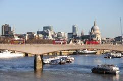 Waterloo-Brücke Stockfoto