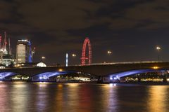 Waterloo bridge London Royalty Free Stock Photos