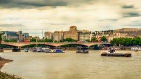Waterloo bro fotografering för bildbyråer
