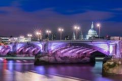 Waterloo brug Royalty-vrije Stock Afbeeldingen