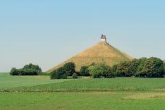 Waterloo-Kampfdenkmal. Stockfoto