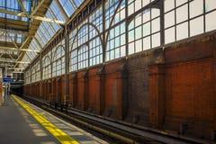 Waterloo plattform arkivfoton