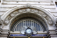 Waterloo Railway Station Victory Arch Royalty Free Stock Photo