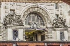Waterloo stacja Obrazy Stock