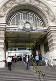 Waterloo Station Royalty-vrije Stock Foto's