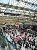 Waterloo station Royaltyfria Bilder