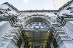 Waterloo station entrance - London England  UK Royalty Free Stock Photos