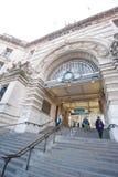 Waterloo Station, Londen Royalty-vrije Stock Afbeeldingen