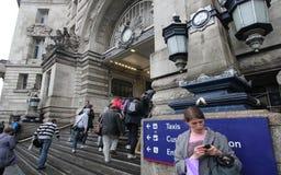 Waterloo Station London Royalty Free Stock Image