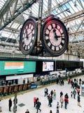 Waterloo station, London royaltyfria foton