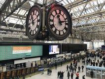 Waterloo station, London arkivfoton