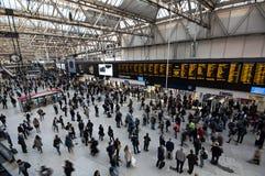 Waterloo train station Stock Photo