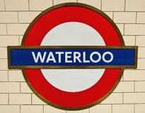 Waterloo Untertage Stockfotos