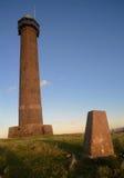 Waterloo zabytek w Szkockich granicach obraz stock