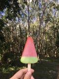 Watermalon del helado Imagenes de archivo