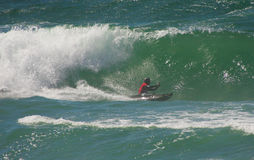 Waterman Challenge - Kayaksurfin Santa Cruz, Stock Images
