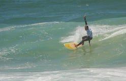Waterman Challenge - Surf - Edu Exteberria Stock Photos