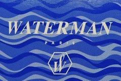 Waterman di marchio e di marca Fotografie Stock Libere da Diritti