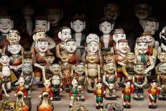 Watermarionetten voor verkoop royalty-vrije stock fotografie