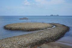 Watermark in Gulf of Thailand Stock Photos