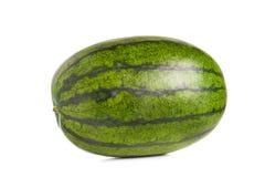 Watermeloen die op wit wordt geïsoleerdr Royalty-vrije Stock Fotografie