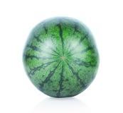 Watermeloen die op witte achtergrond wordt geïsoleerd) Stock Afbeelding