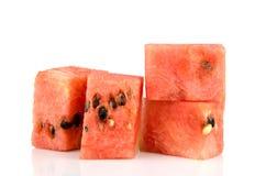 Watermeloen, fruit verse plak Royalty-vrije Stock Afbeeldingen