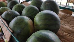 Watermeloen, met een hoogwaterinhoud met zoete smaak stock afbeeldingen