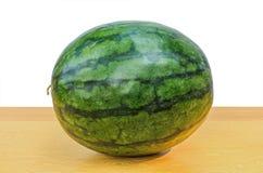 Watermeloen op Wit Knippende weg Royalty-vrije Stock Afbeelding