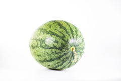 Watermeloen op witte achtergrond Stock Fotografie