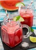 Watermeloen smoothie Royalty-vrije Stock Foto