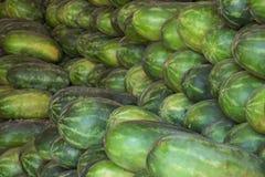 Watermeloen warehoouse royalty-vrije stock fotografie