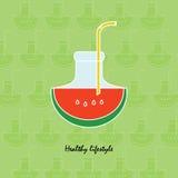 Watermeloendrank Royalty-vrije Stock Foto's