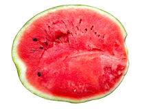 Watermeloendwarsdoorsnede Stock Foto's