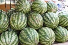 Watermeloenen Stock Fotografie