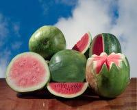 Watermeloenen Royalty-vrije Stock Afbeelding