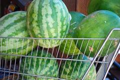 Watermeloenen Royalty-vrije Stock Foto's