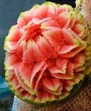 Watermeloengravure Royalty-vrije Stock Foto's
