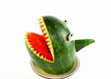 Watermeloenhaai Stock Foto's