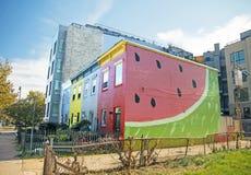 Watermeloenhuis Royalty-vrije Stock Afbeelding